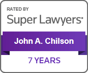 Rated by Super Lawyers(R) - John A. Chilson - 7 Years
